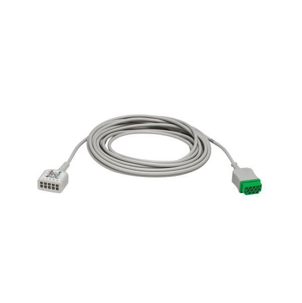 Multi-Link 3/5-Lead ECG care cable, AHA 20ft