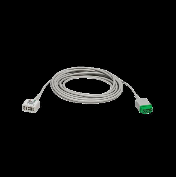 Multi-Link 3/5-Lead ECG care cable, w/ESU filter, AHA