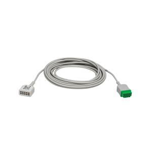 Multi-Link 3/5-Lead ECG care cable, AHA 12ft