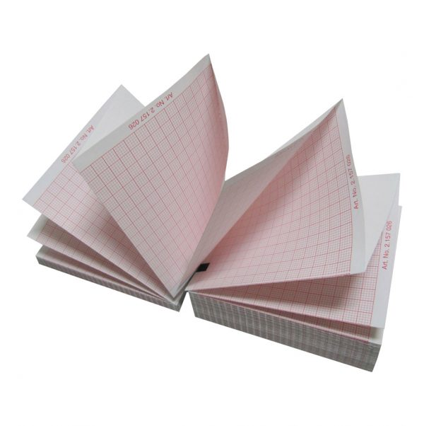 ECG Paper 8 packs MAC 3500,5500 Blank Data Area (300 sheets ea.)