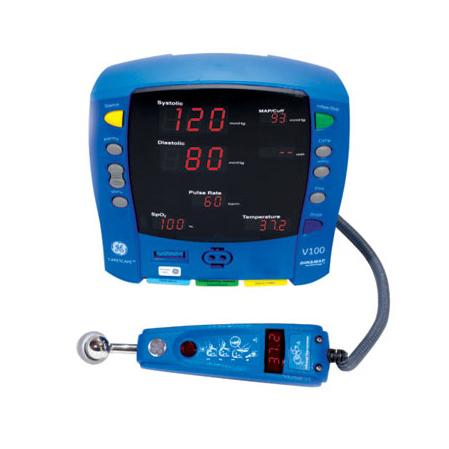 V100 with Exergen Temperature Temporal Probe