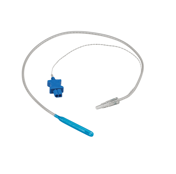 Esophageal stethoscopes with temperature (sterile and nonsterile)