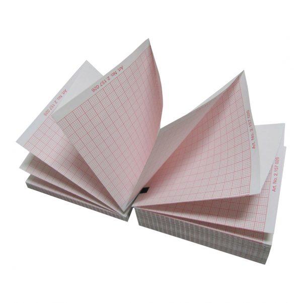 ECG Paper 10 packs MAC 1200,1600,2000 (150 sheets ea.) Imaged archival life 25 Years